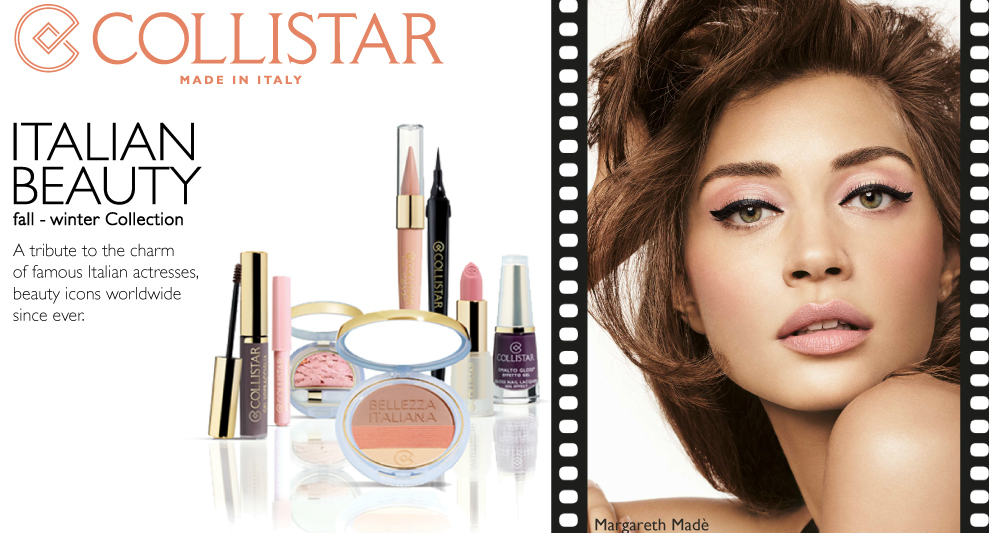 Collistar Italian Beauty AW 2014 Makeup Collection promo