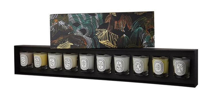 Diptyque Mini Candle Set For Christmas 2014
