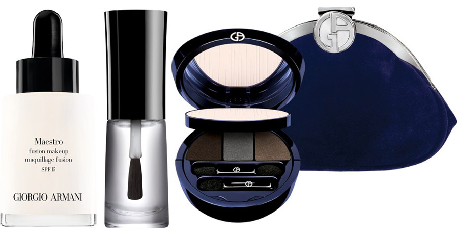 Giorgio Armani Orient Excess Makeup Collection for Holiday 2014 products