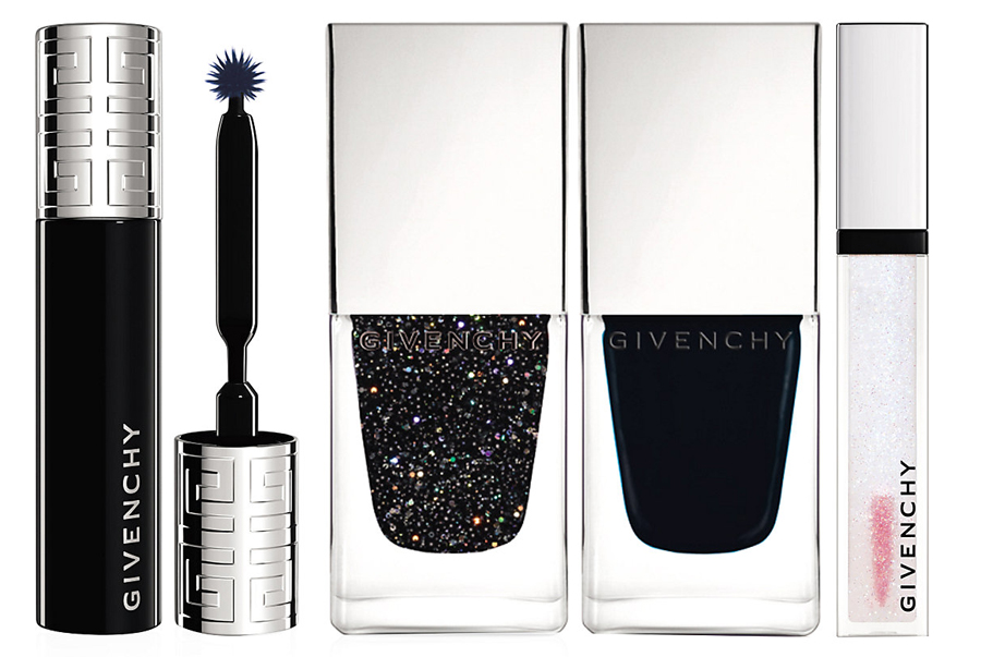 Givenchy Folie de Noirs Makeup Collection for Christmas 2014 nails and lips