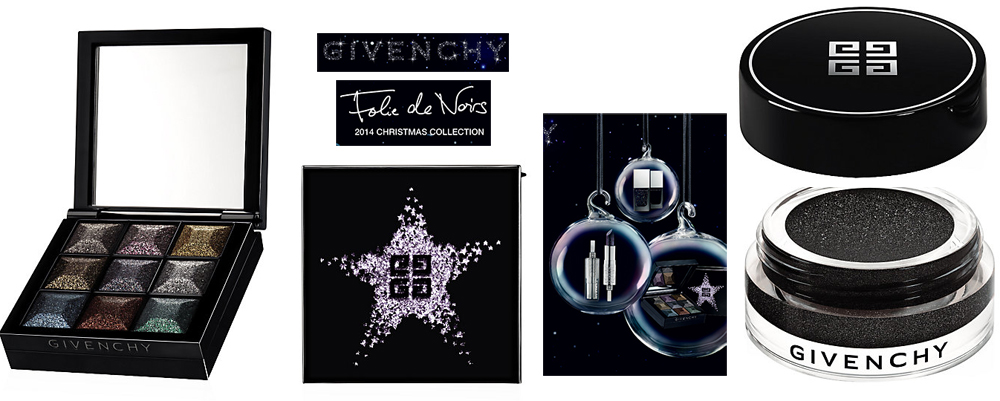 Givenchy Folie de Noirs Makeup Collection for Christmas 2014 promo eyes