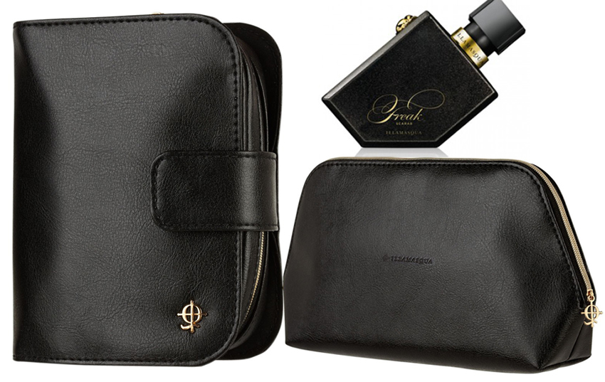 Illamasqua Facets Makeup Collection For Holiday 2014 makeup bag, brushes, Freak