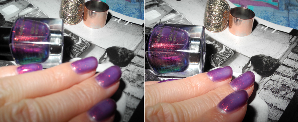 Max Factor Max Effect Nail Polish in 45 Fantasy Fire nail of the day