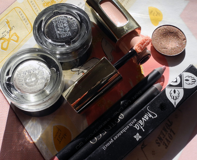 My Current Top 5 Affordable Makeup Products Loreal Inglot Max factor ArtDeco Shavata