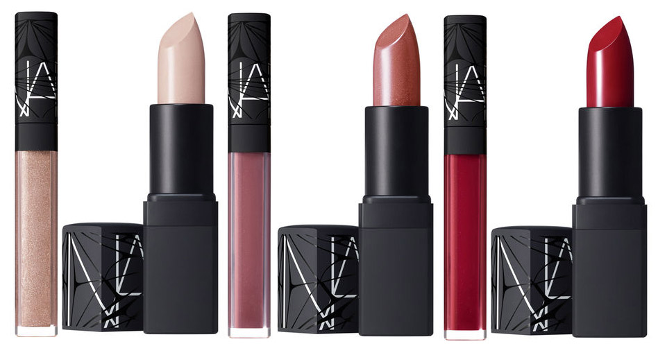 NARS Laced With Edge Makeup Collection for Christmas 2014 lipstick and lip gloss