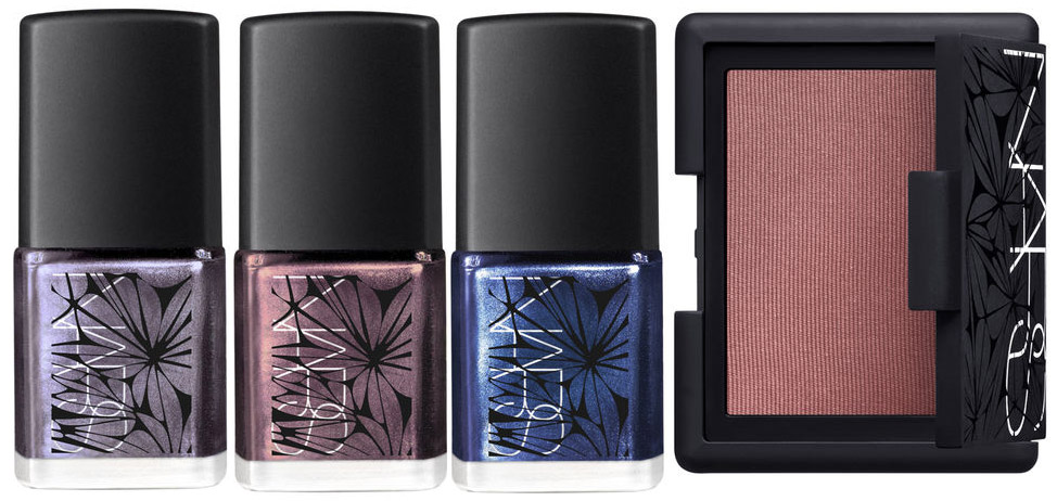 NARS Laced With Edge Makeup Collection for Christmas 2014 nails and face