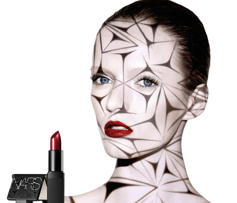NARS Laced With Edge Makeup Collection for Christmas 2014 promo with daria strokous