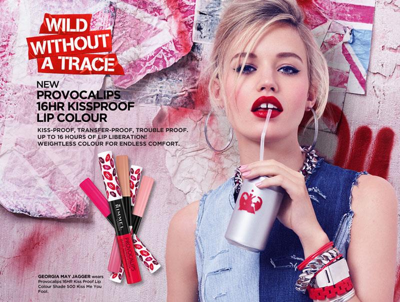 Rimmel Provocalips 16HR Kissproof Lip Colour promo