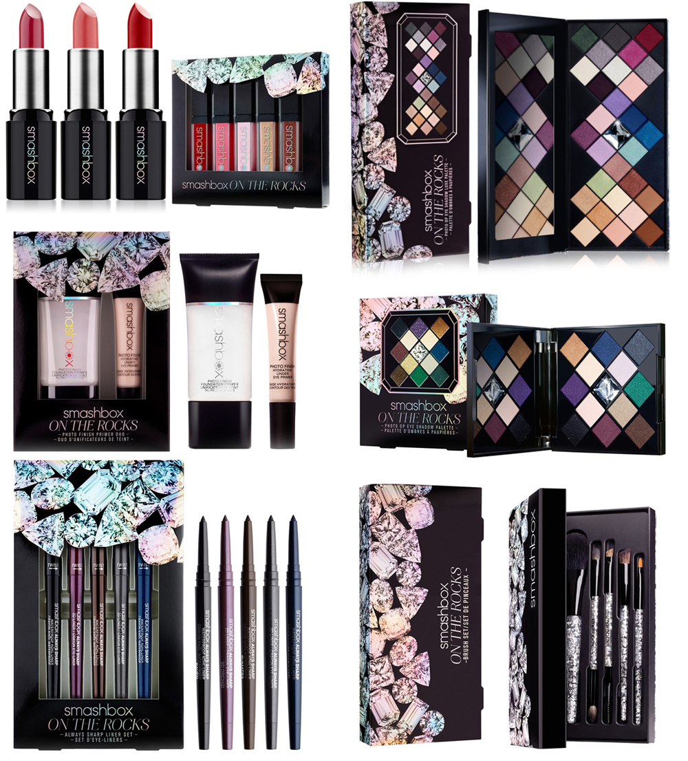 Smashbox On The Rocks Makeup Collection for Holiday 2014 products
