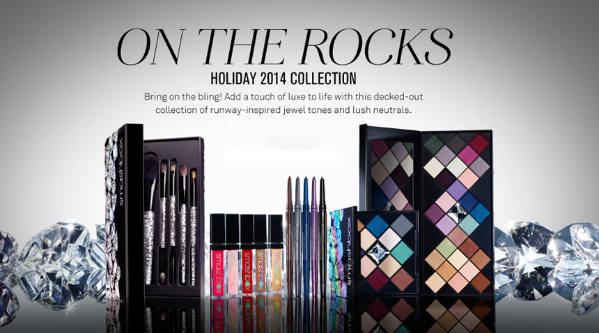 Smashbox On The Rocks Makeup Collection for Holiday 2014 promo