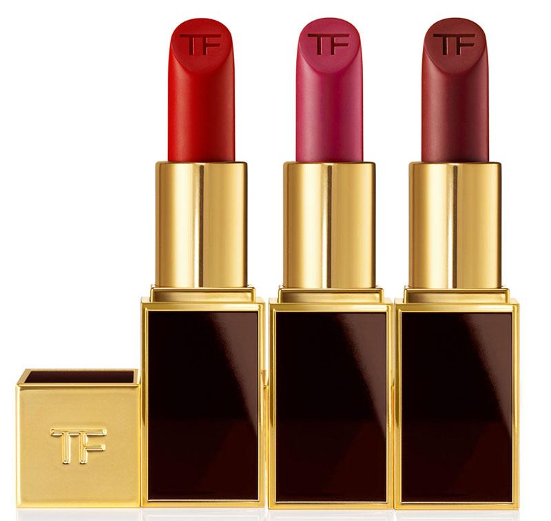 Tom Ford Lip Color Matte Ruby Rush Velvet Cherry Plum Lush holiday 2014