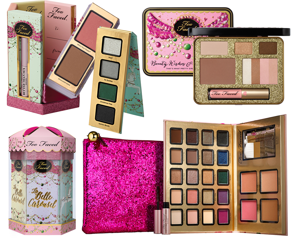 Too Faced Makeup Collection for Holiday 2014 kits