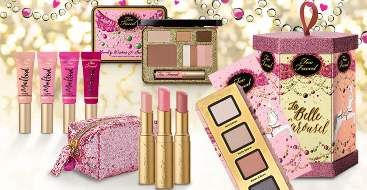 Too Faced Makeup Collection for Holiday 2014 promo
