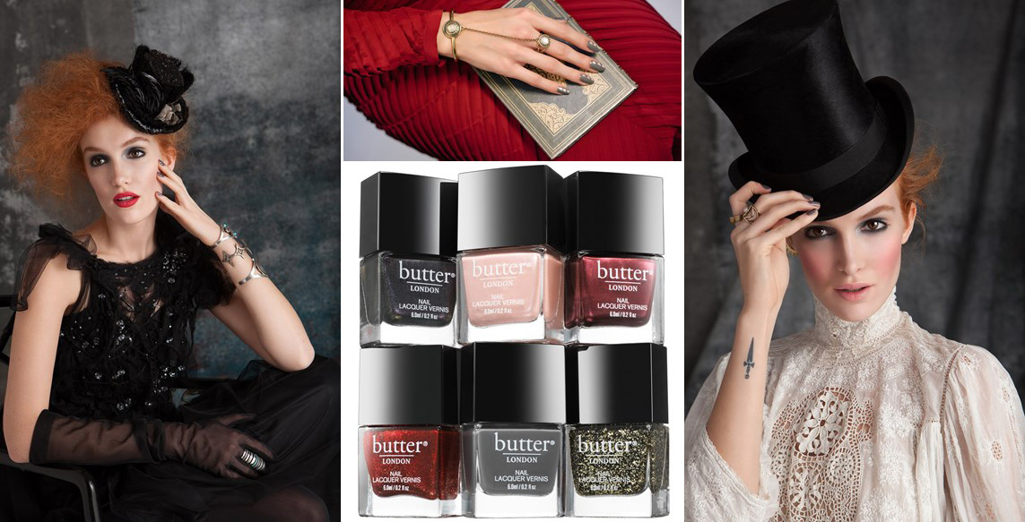 butter LONDON Steampunk nail polish collection holiday 2014