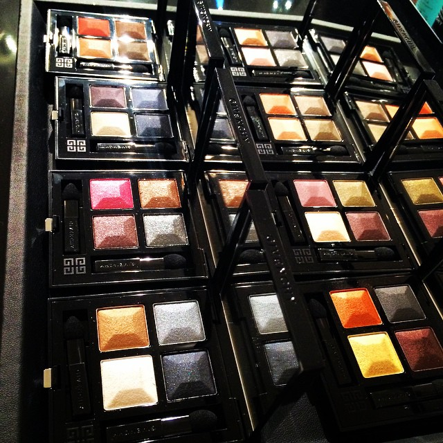 Givenchy eye shadows Le Prisme Yeux SS15