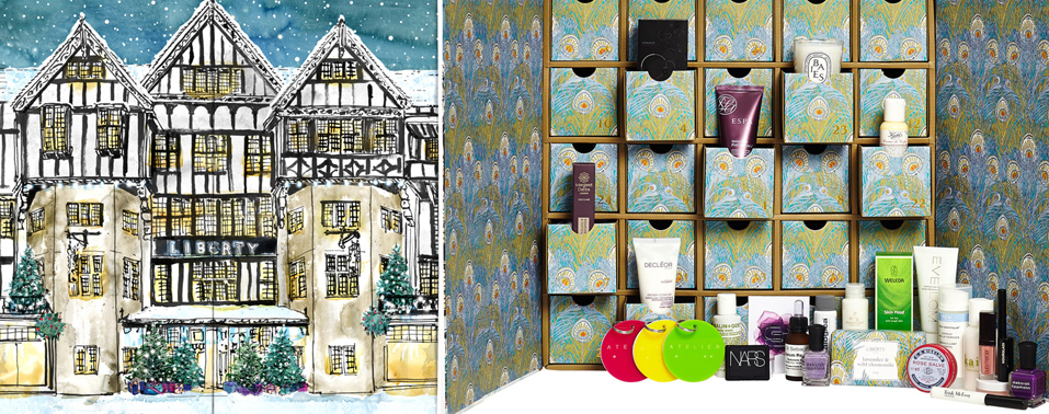 Liberty London Christmas Beauty Advent Calendar