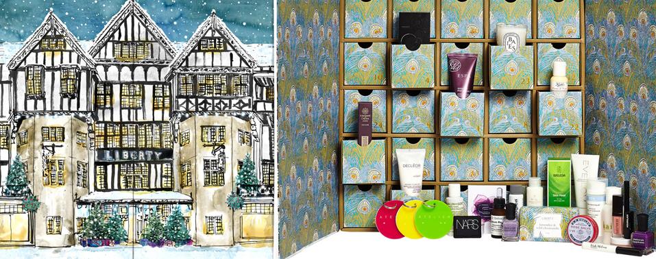 Liberty London Christmas Beauty Advent Calendar