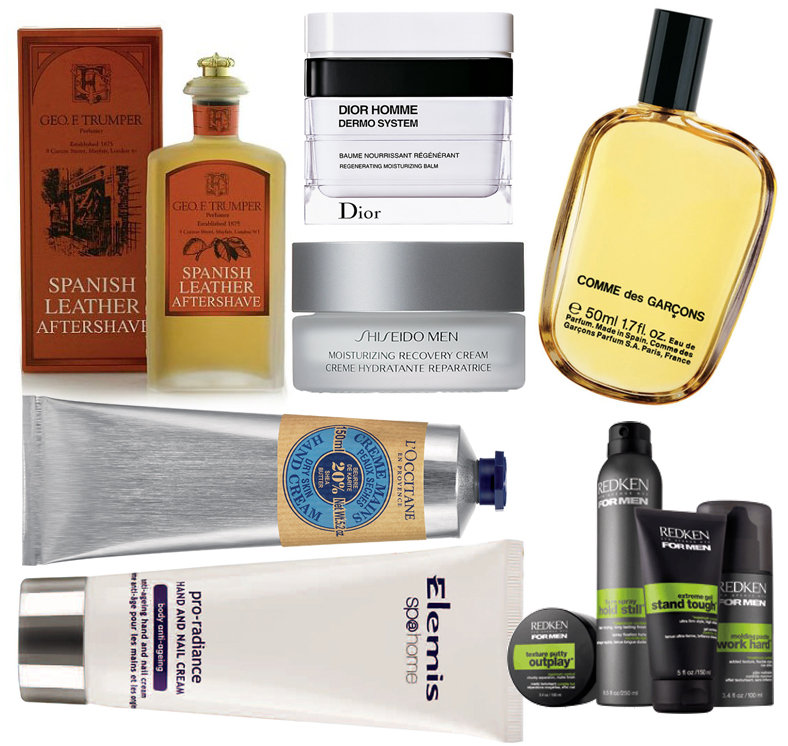 Makeu4all Christmas Gift Guide for Him redken elemis Geo F trumper Dior Shiseido