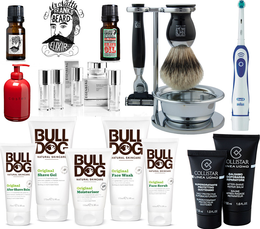 Makeu4all Christmas Gift Guide for HimBulldog, Collistar, Eisenberg, Mr Natty Geo F Trumpet Costes Oral B
