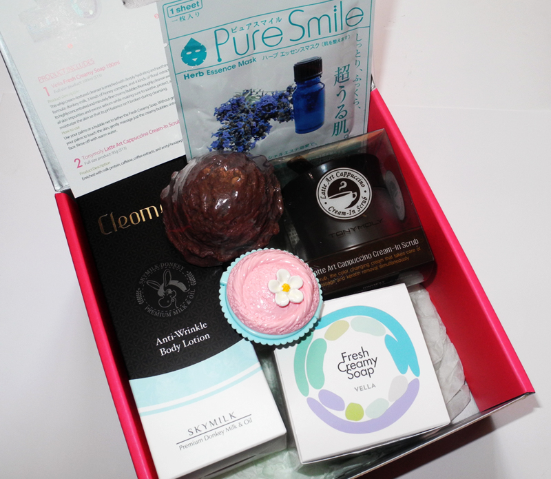 MeMe Korean Beauty Box 39 Cafe Edition