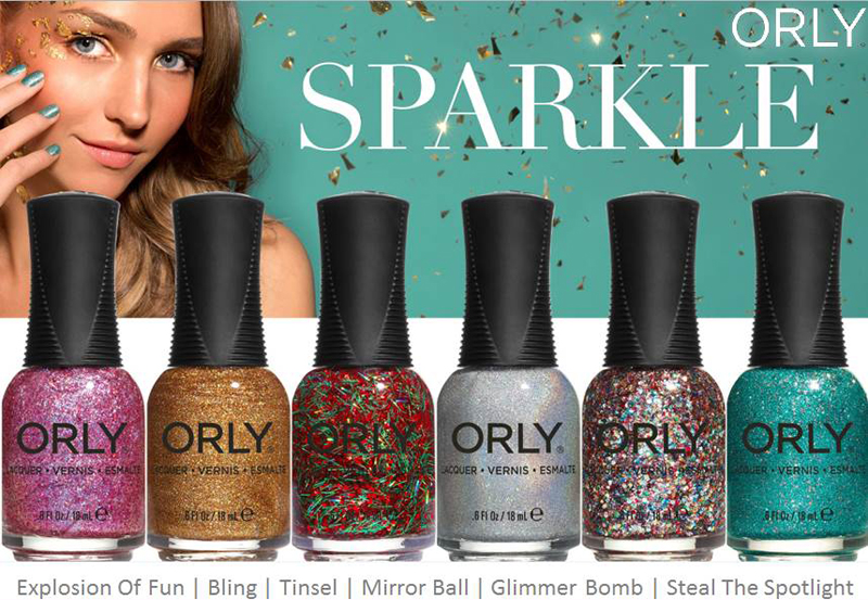 Orly Sparkle Nail Polish Collection for Winter 2014