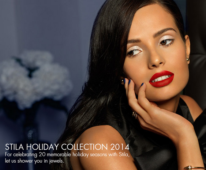 Stila Makeup Collection for Holiday 2014 promo