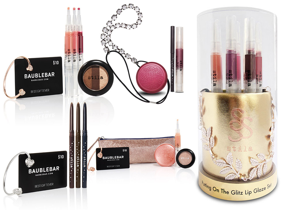 Stila Makeup Collection for Holiday 2014 sets 1