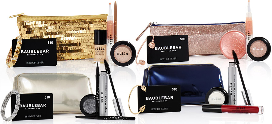 Stila Makeup Collection for Holiday 2014 sets