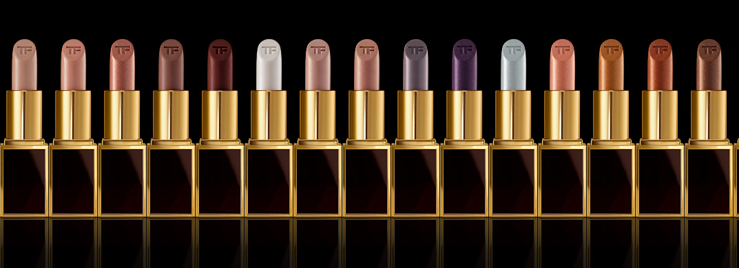 Tom Ford Lips & Boys Collection for Holiday 2014 nudes, metallics, browns