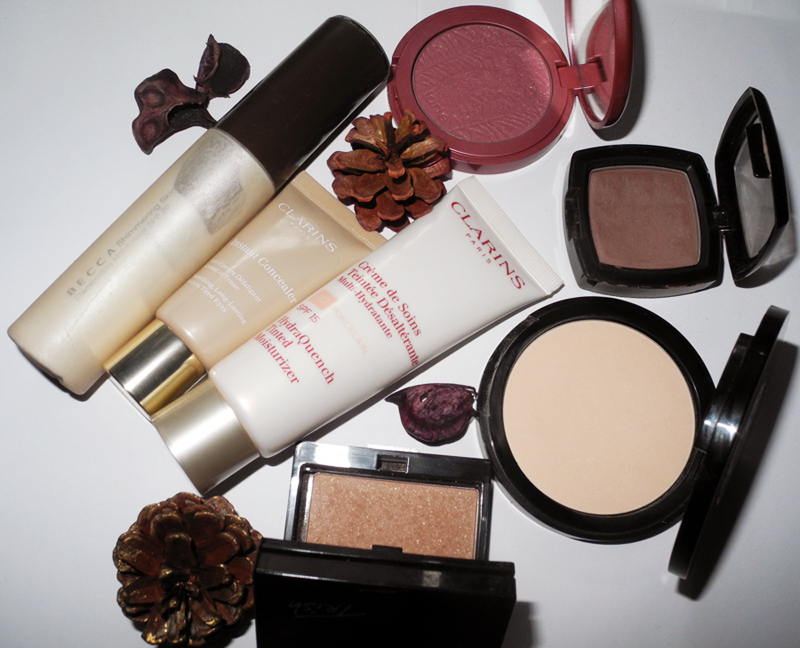 Best Beauty Products of 2014 Makeup, BECCA, Clarins, tarte, NYX, RBR, Trish