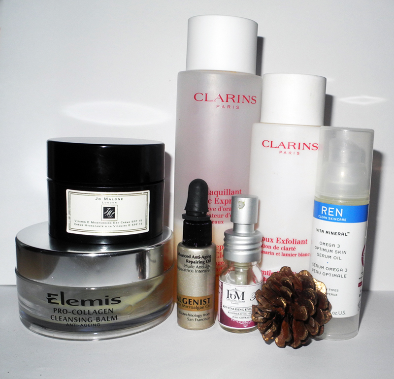 Best Beauty Products of 2014 Skincare Elemis Ren FOM Clarins Algenist Jo Malone