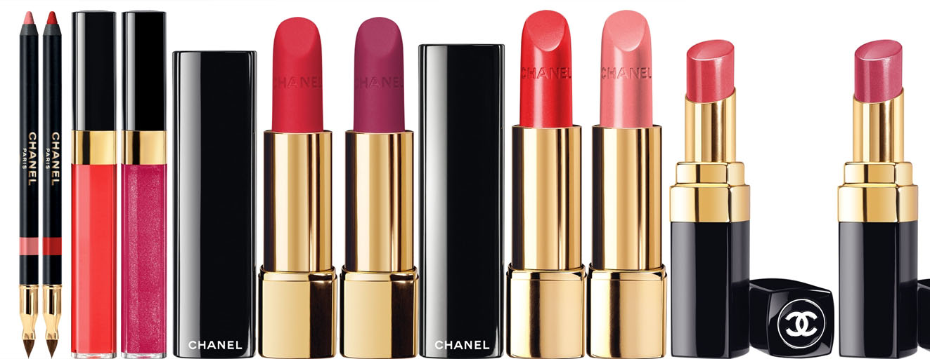 Chanel Reverie Parisienne Makeup Collection for Spring 2015 lip products