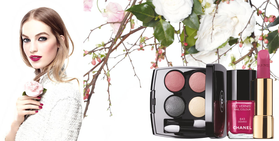 Chanel Reverie Parisienne Makeup Collection for Spring 2015 promo