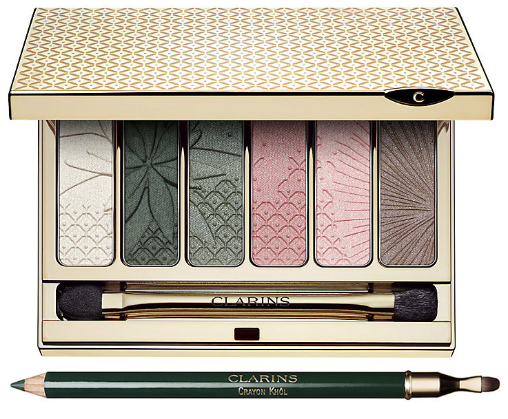 Clarins Garden Escape Makeup Collection for Spring 2015 eyes