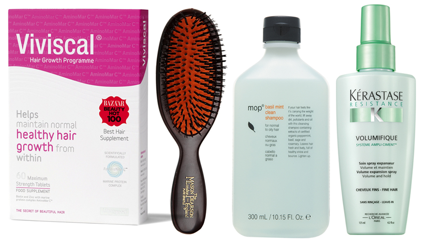 Hair Wish List Viviscal, Kerastase, Mason Pearson and MOP