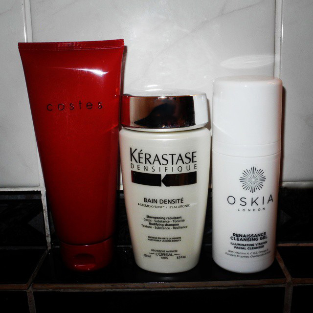 Morning Shower Routine Oskia, Kerastase and Costes