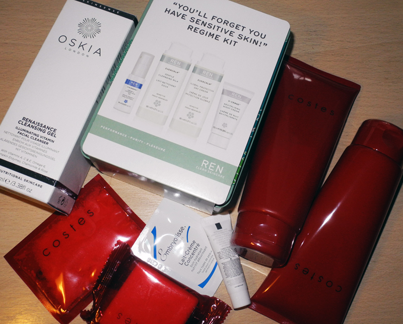 New Beauty Purchases Costes Oskia and REN