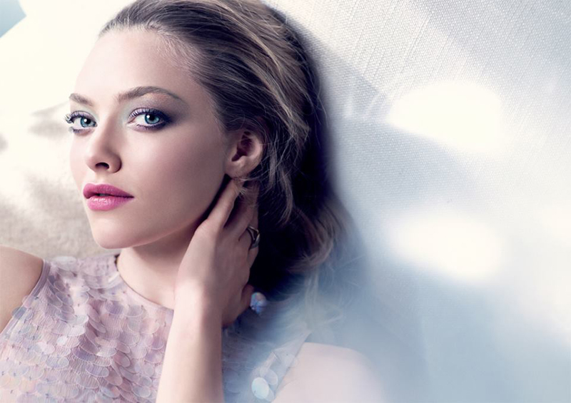 Cle de Peau Enchanted Beauty Makeup Collection for Spring 2015 promo with Amanda Seyfrid