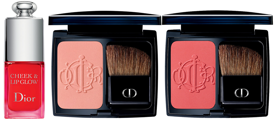 Dior Kingdom Of Colors Makeup Collection for Spring 2015 cheek products