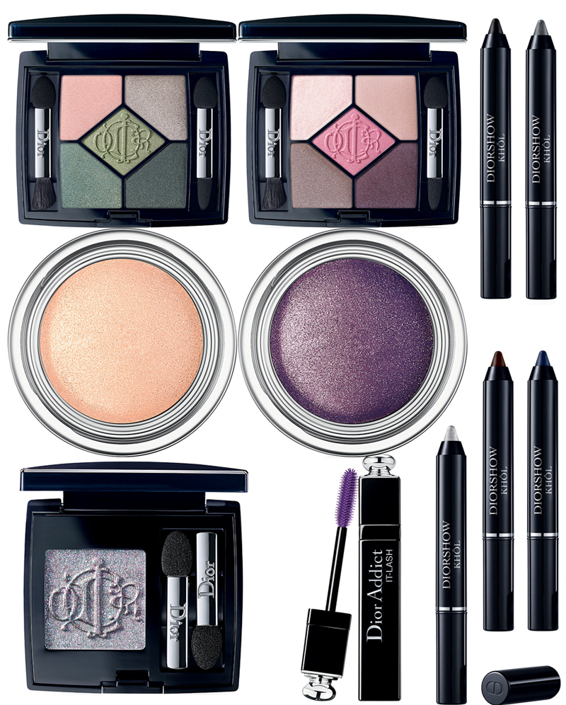 Dior Kingdom Of Colors Makeup Collection for Spring 2015 eye products