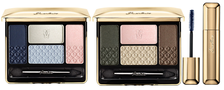 Guerlain Les Tendres Makeup Collection for Spring 2015 eye products