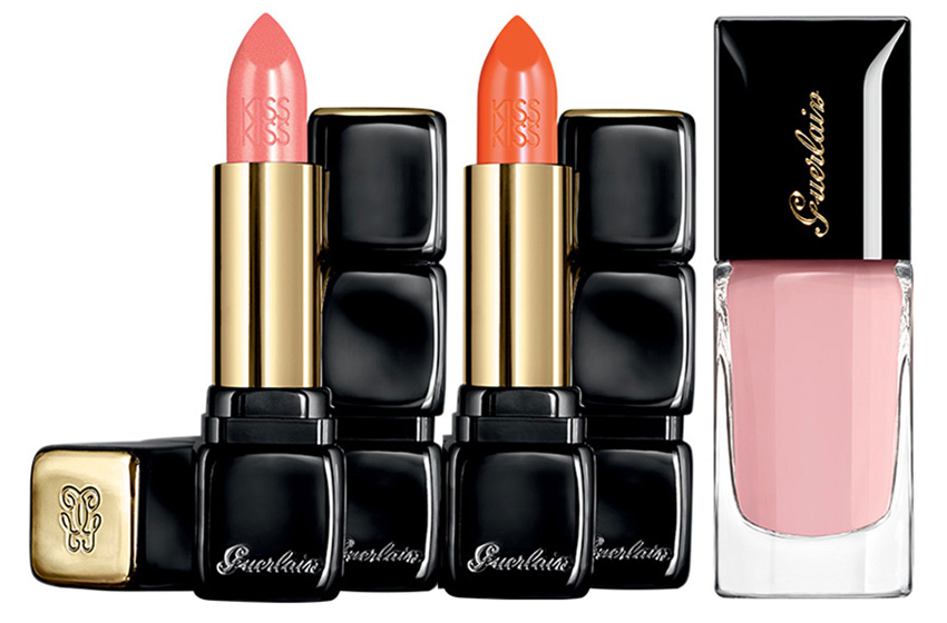 Guerlain Les Tendres Makeup Collection for Spring 2015 lips and nails