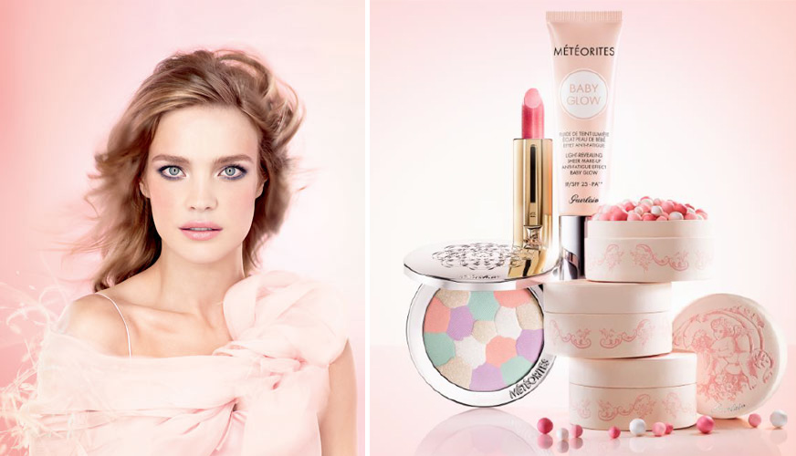 Guerlain Les Tendres Makeup Collection for Spring 2015 promo
