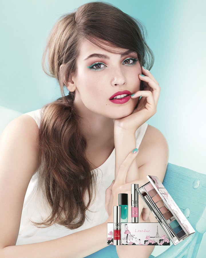 Lancome Innocence Makeup Collection for Spring 2015 promo