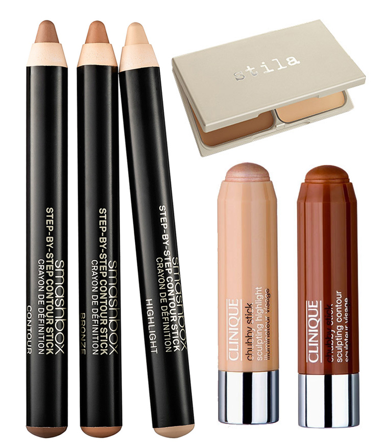 Spring 2015 Contouring smashbox, Clinique, Stila