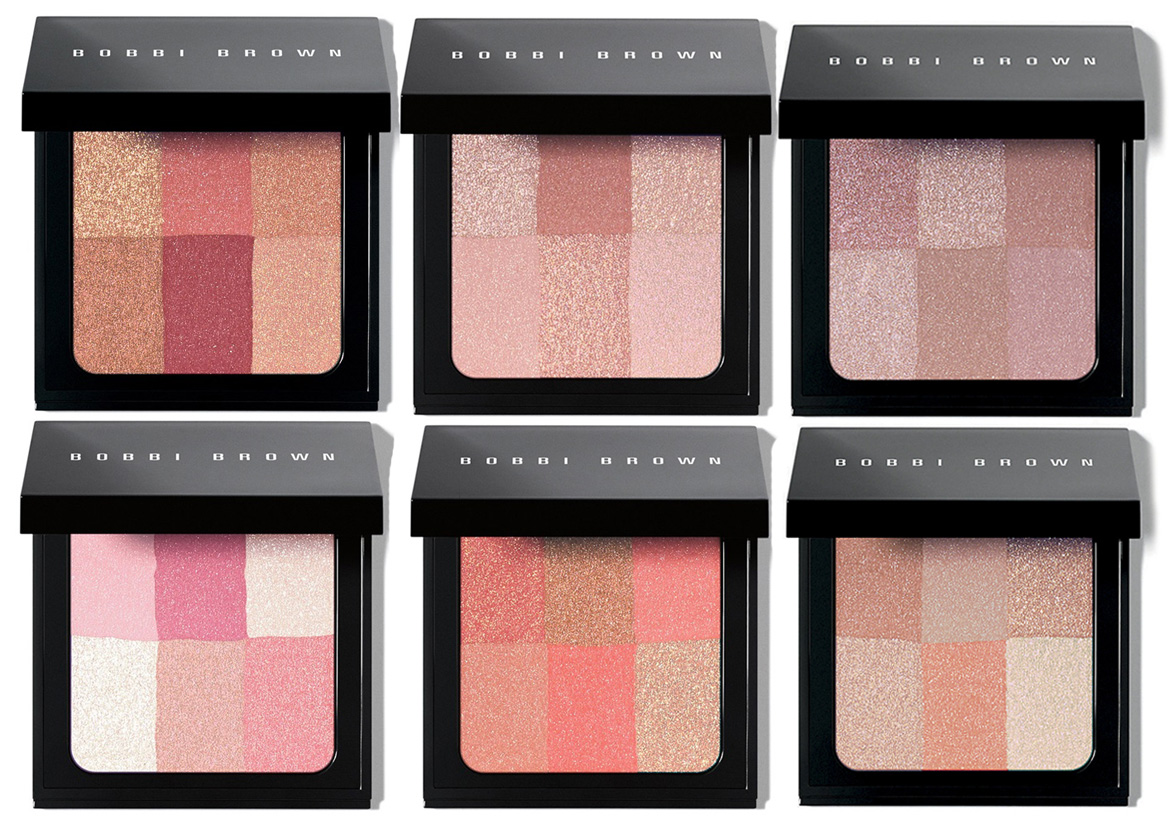 Bobbi Brown Brightening Brick for Spring 2015 all shades