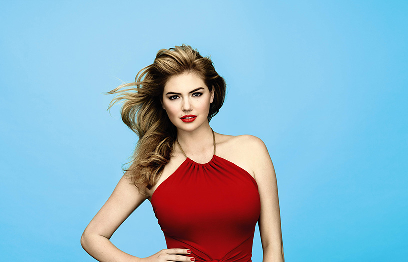 Bobbi Brown Hot Makeup Collection for Spring 2015 kate Upton promo