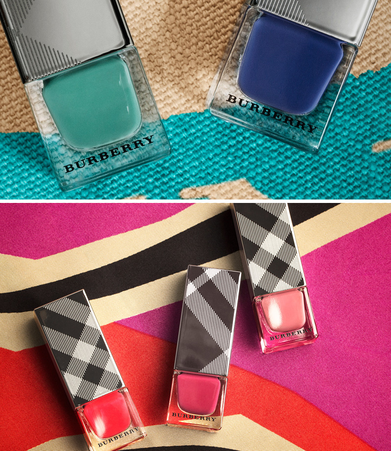 Burberry Makeup Collection for Spring 2015 nails