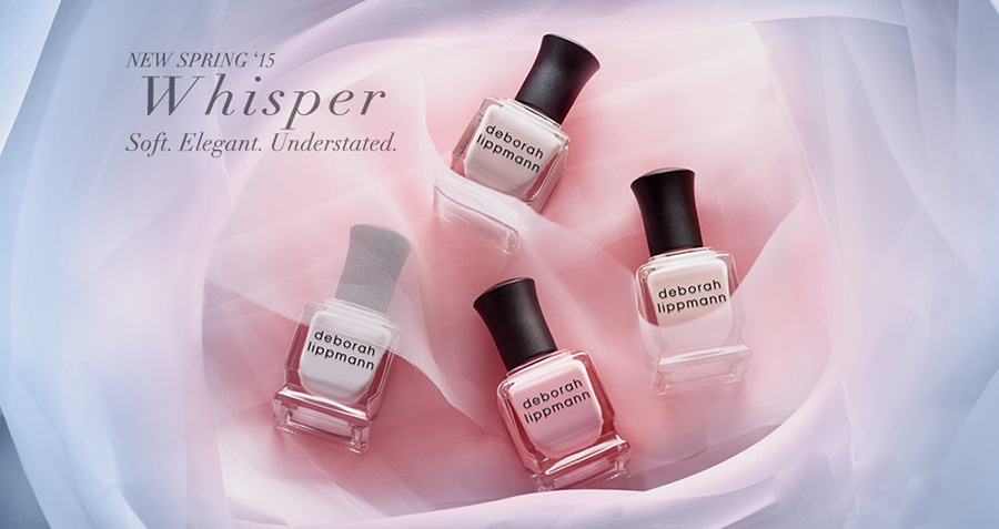 DEborah Lippmann Whisper Spring 2015 nail polish collection