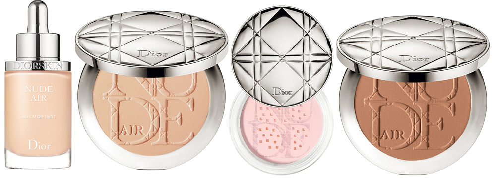 Diorskin Nude Air Makeup Collection for Spring 2015 products
